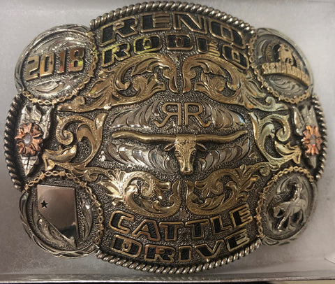 2018 Cattle Drive Buckle