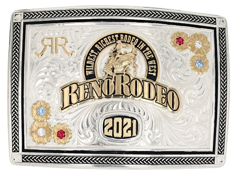 2021 Reno Rodeo Buckle