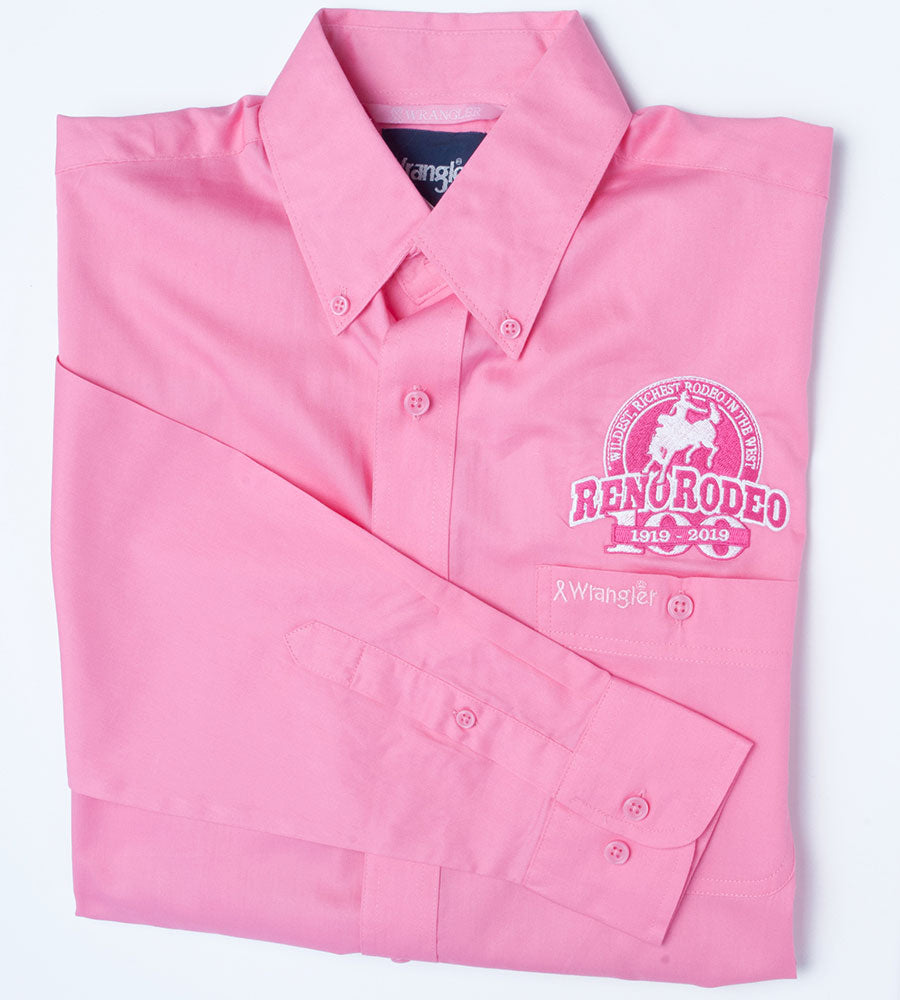 "100 Year Logo Mens Wrangler  ""Tough Enough to Wear Pink"""