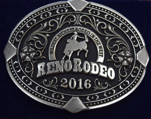 2016 Reno Rodeo Cast Buckle