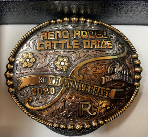2020 Cattle Drive Buckle