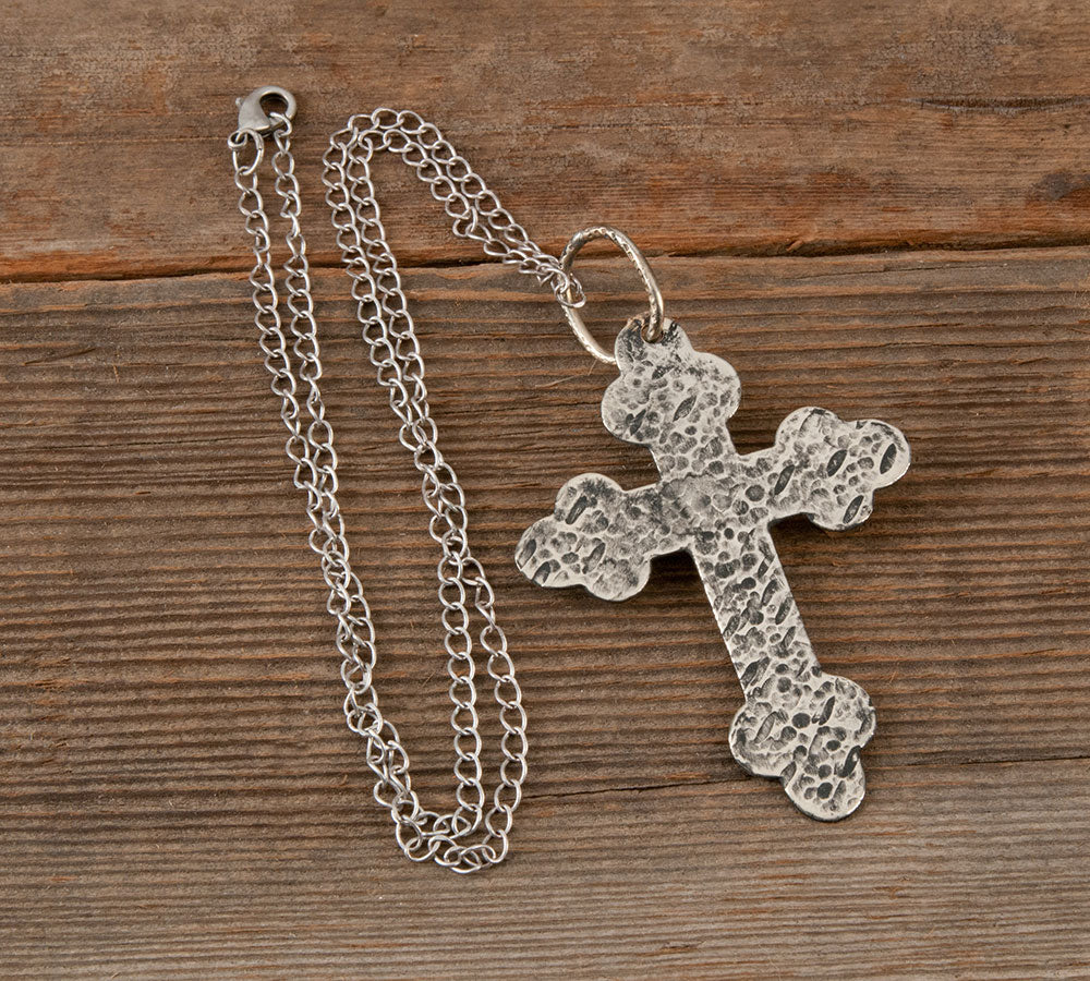 Gist Large Cross Necklace