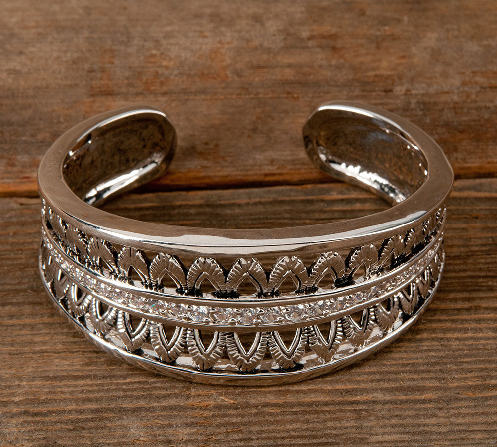 Montana Silversmith Feathered Crown Cuff