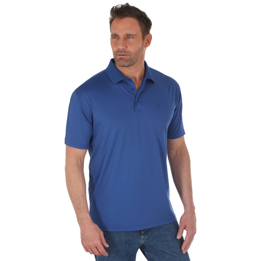 Men's Wrangler® George Strait Performance Polo - Navy
