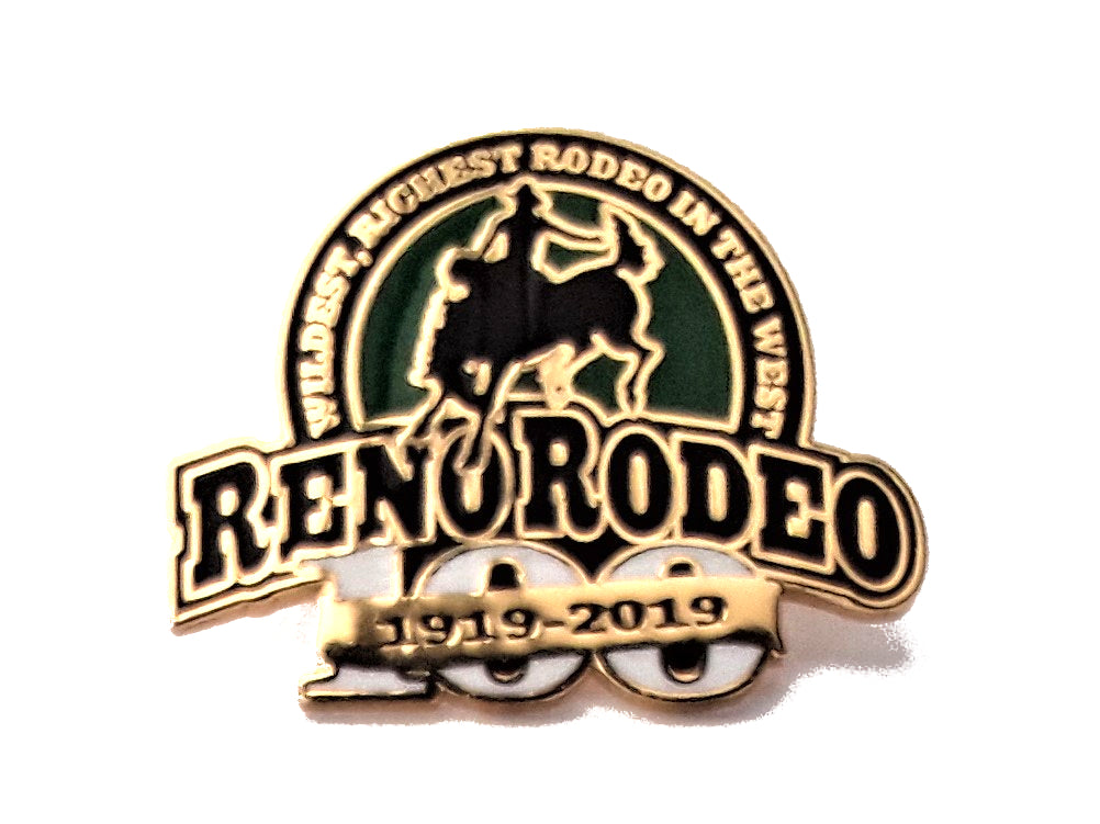100 Year  - 2019 Reno Rodeo Souvenir Pin