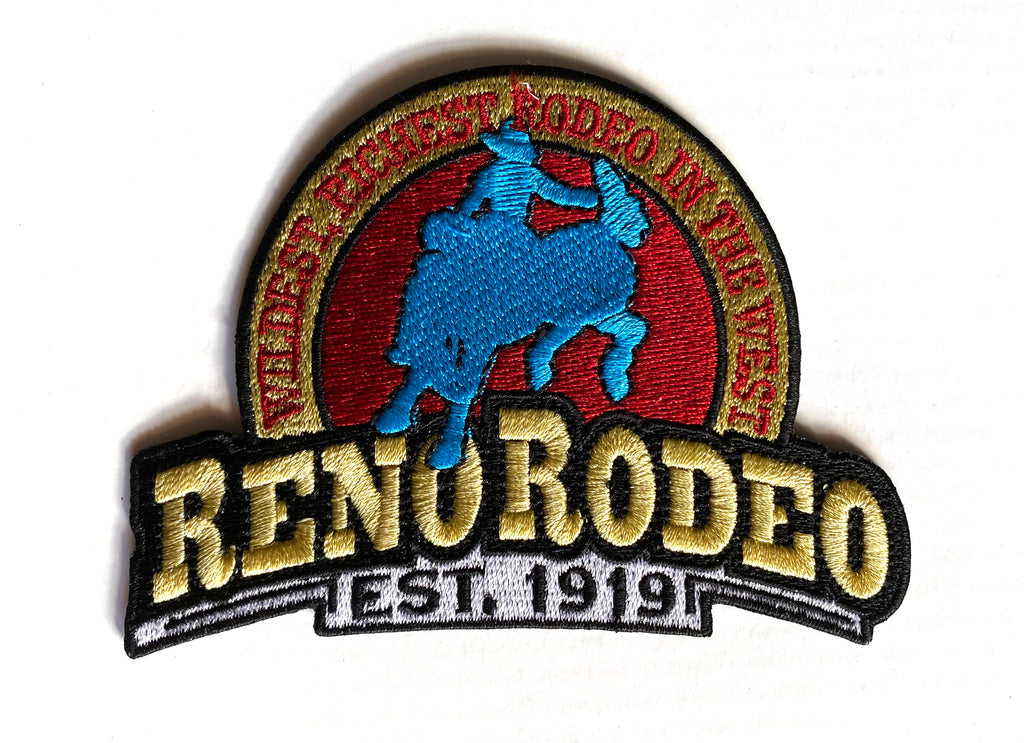 Reno Rodeo 'Established 1919' Iron-On Patch