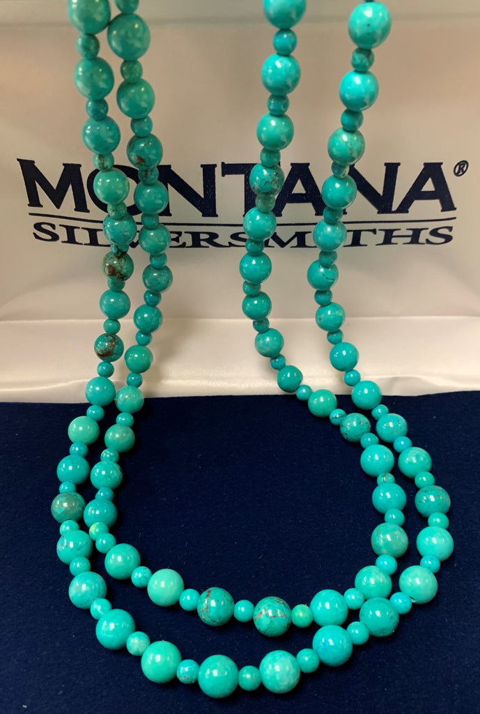 Montana Silversmiths turquoise Beaded Necklace
