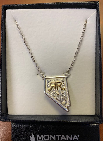 Montana Silversmith Nevada State Necklace