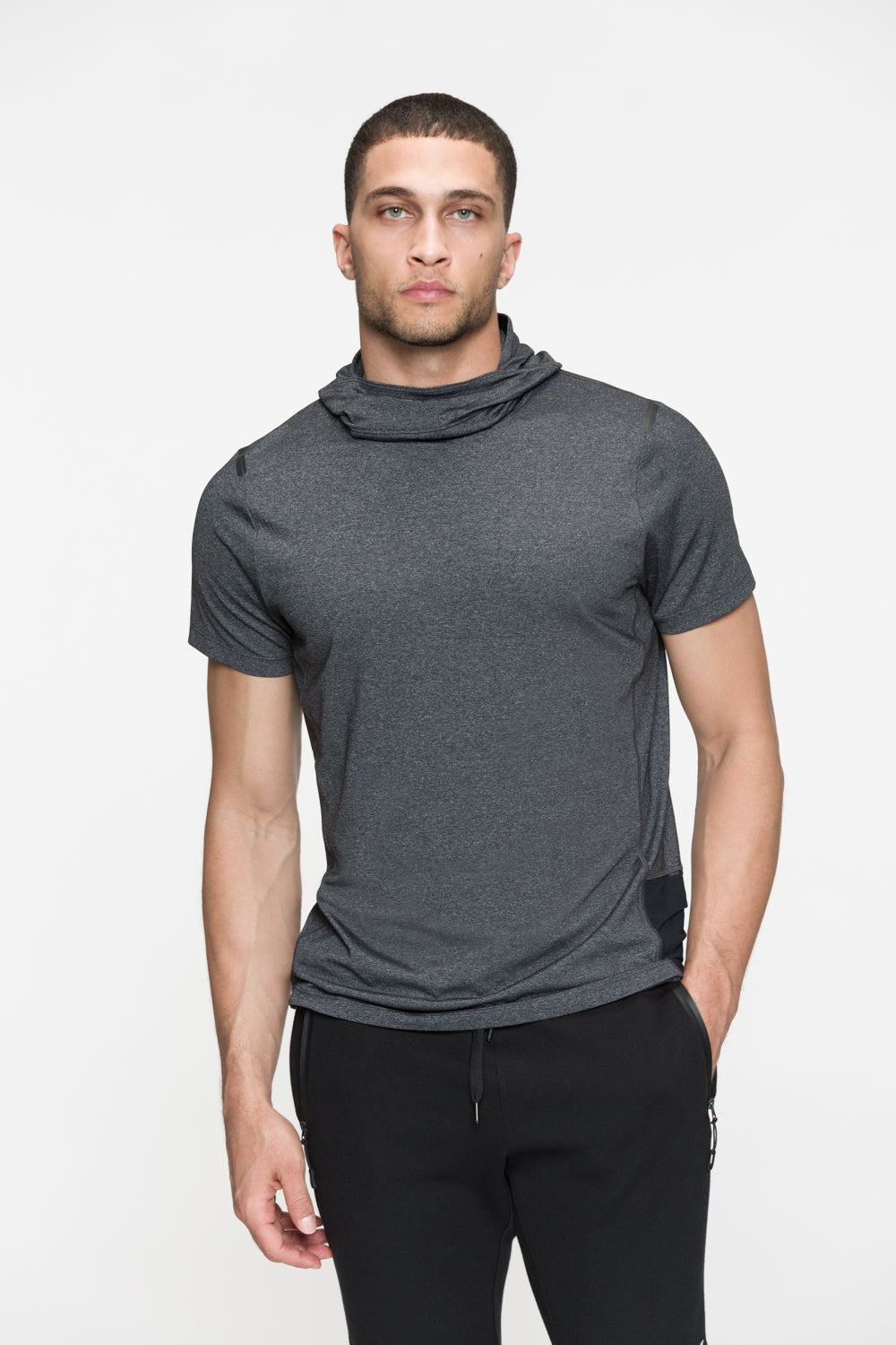 Stealth Hooded Tee