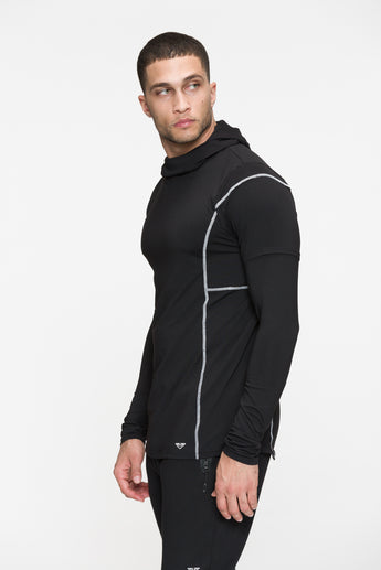 Court Hooded Long Sleeve