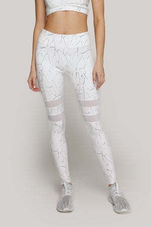 Crackle Print Legging