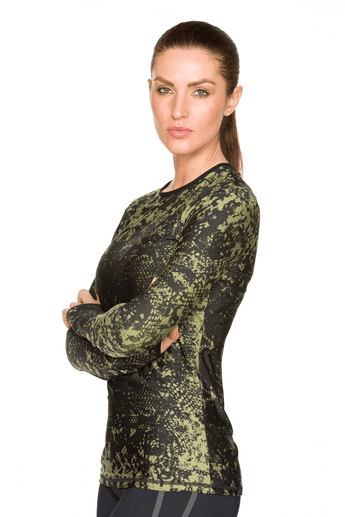Python Long Sleeve Top