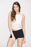 Agility Cropped Mesh Top