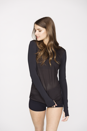 Sheer Definition Long Sleeve Top