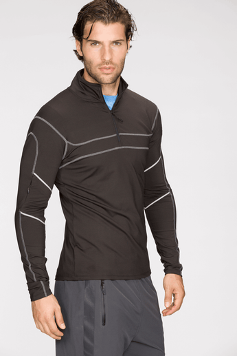 Agility Half-Zip Long Sleeve Top
