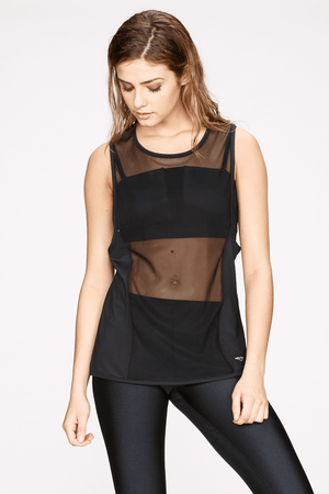 Kinetic Mesh Sleeveless Top