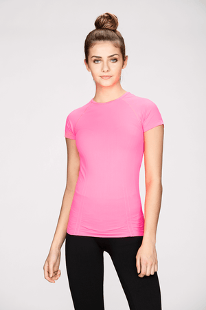 Seamless Tee in Orchid