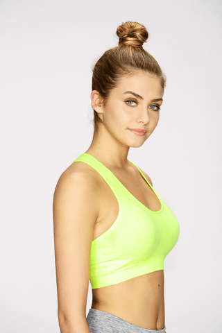 Seamless Bra Top in Lime