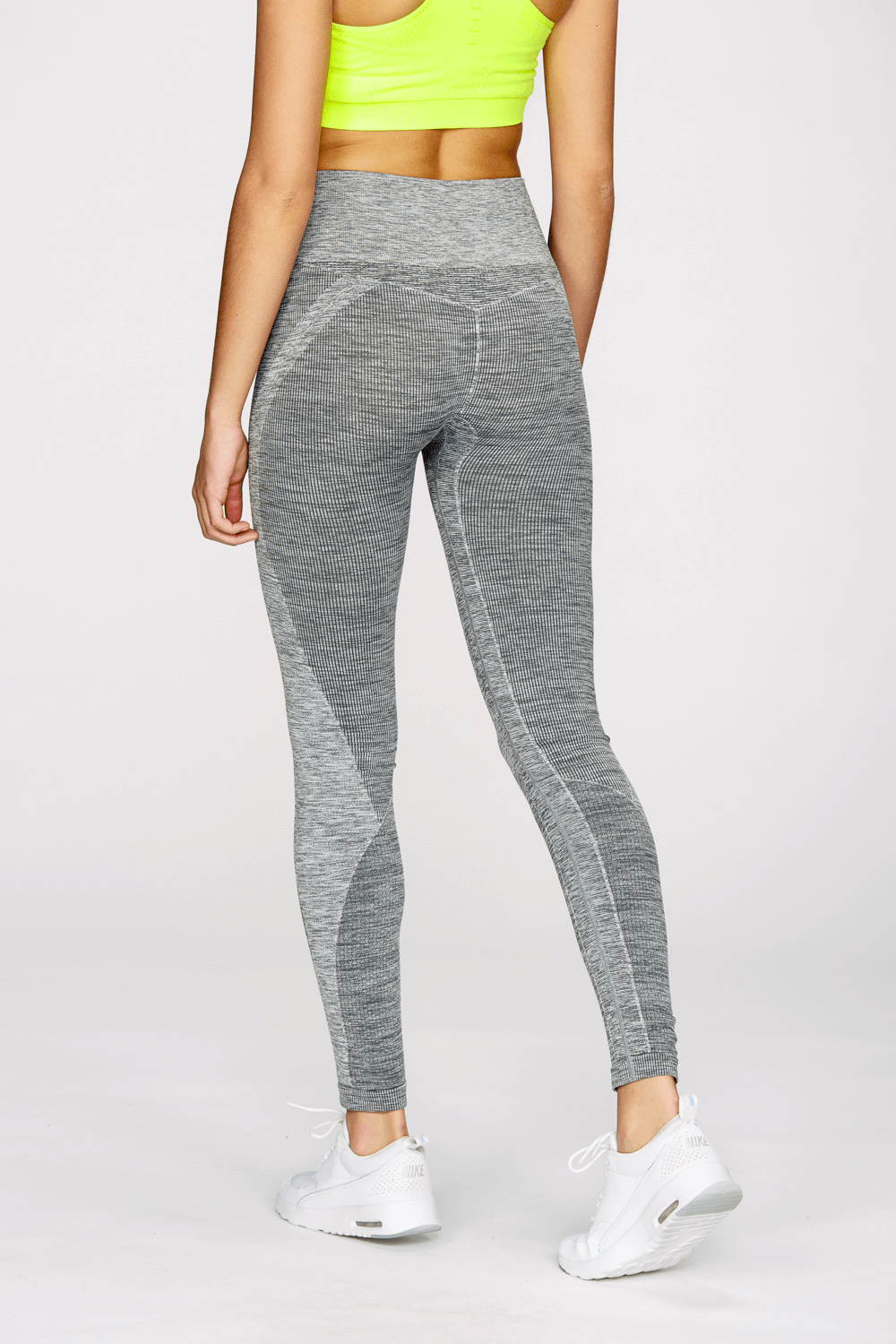 Seamless Legging in Heather Gray