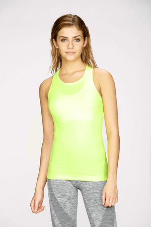Seamless Racerback in Lime