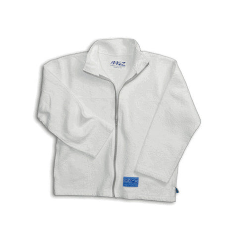 Adult Zipper Jacket (White)