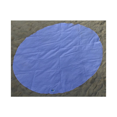 Round Towel Blue