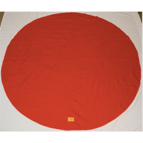 Round Towel Red