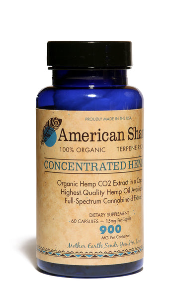 Whole Plant Hemp Oil Capsules: 60 count