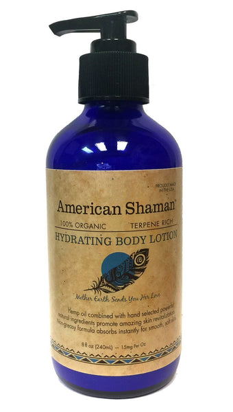 Hydrating Body Lotion, 8 oz. pump bottle