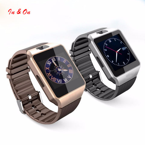 Smart Watch DZ09 With Camera Bluetooth SIM Card Smartwatch For Android Phones Multi languages