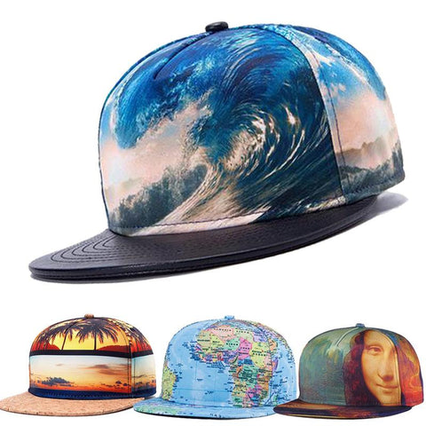 Unisex summer style snapback hat hip hop rock caps