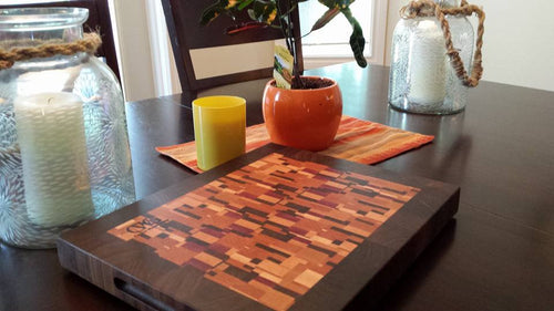 Random Wood Cutting Board
