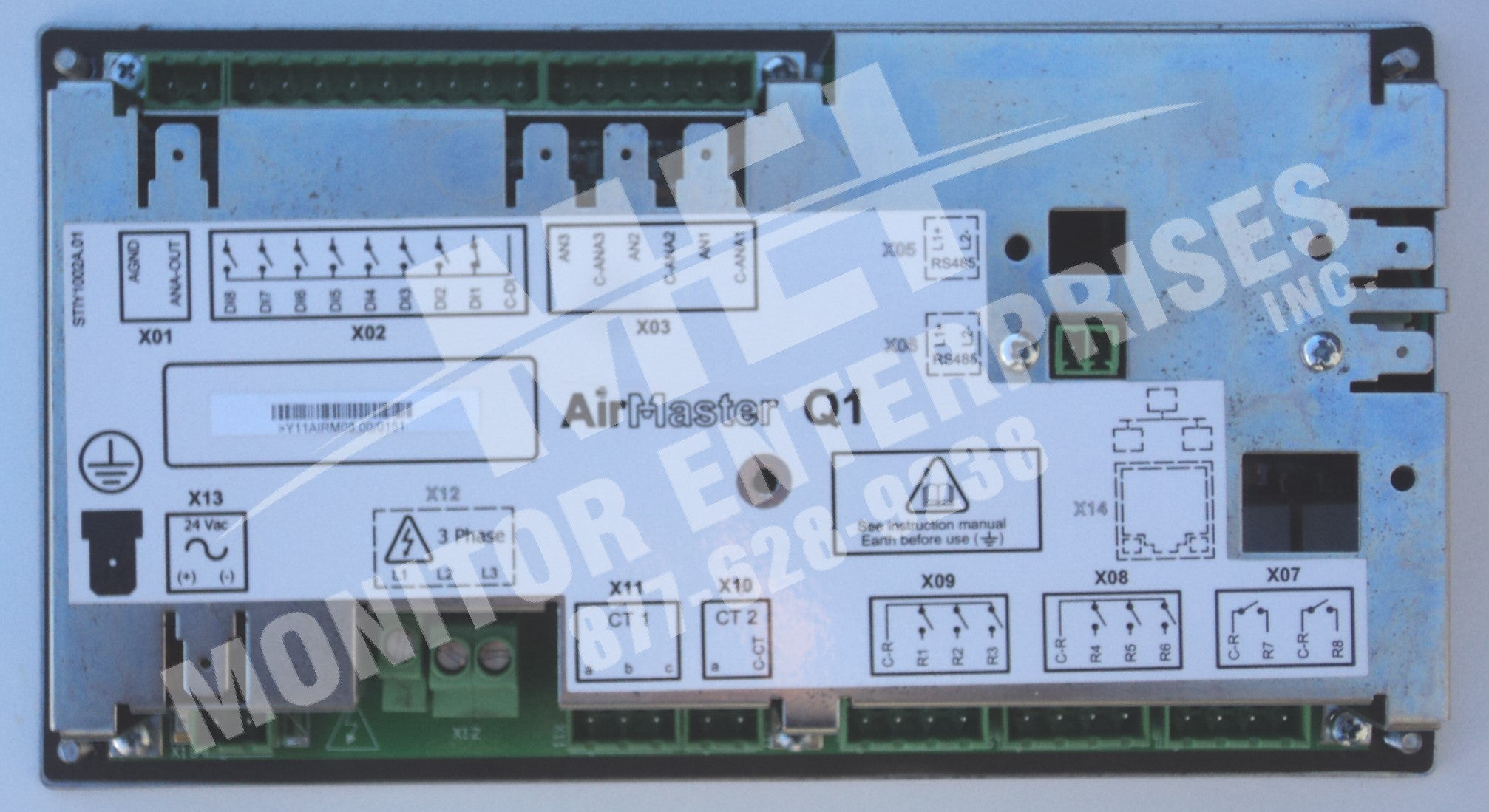 Y11AIRM08 00 CMC Modeltype: AirMaster Q1 Y11AIRM08 00 bus