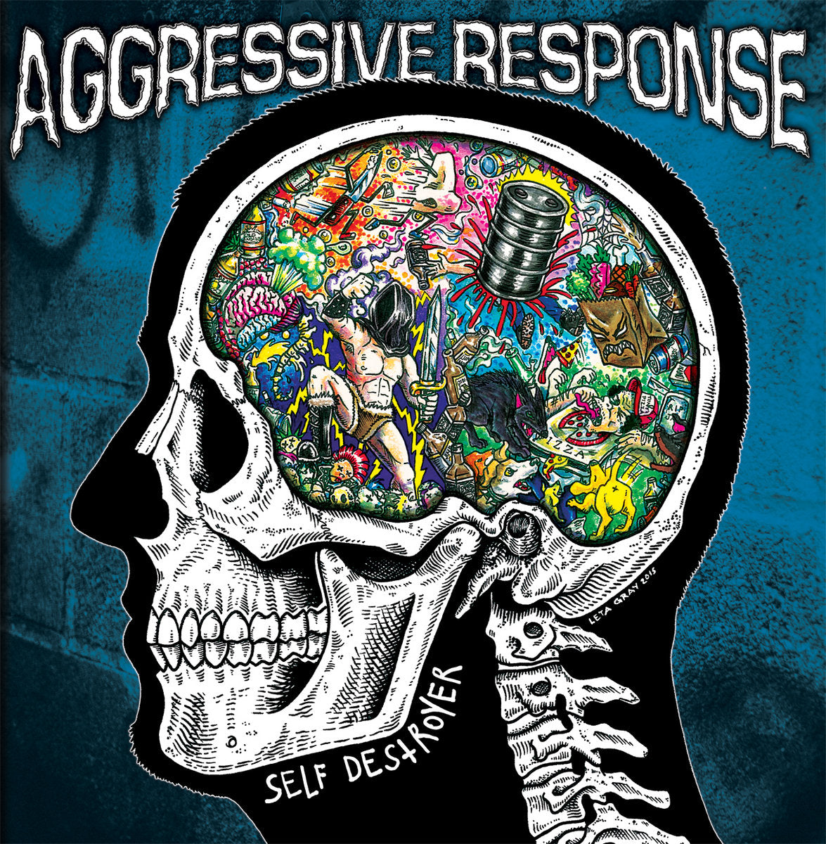 "AGGRESSIVE RESPONSE ‎""SELF DESTROYER"""