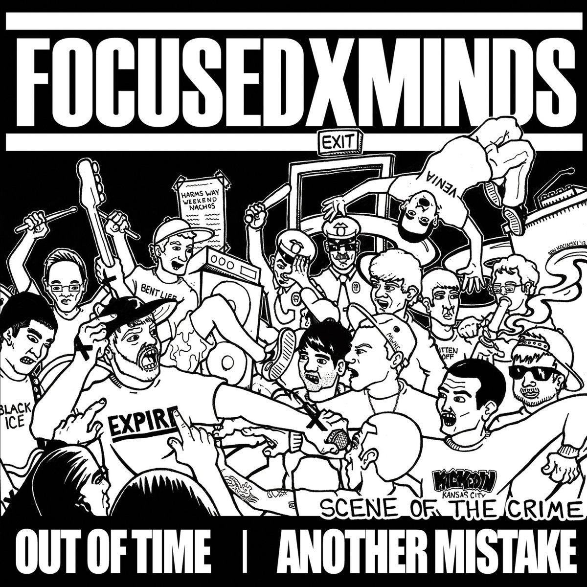 "FOCUSED MINDS / OUT OF TIME / ANOTHER MISTAKE ""SCENE OF THE CRIME"""
