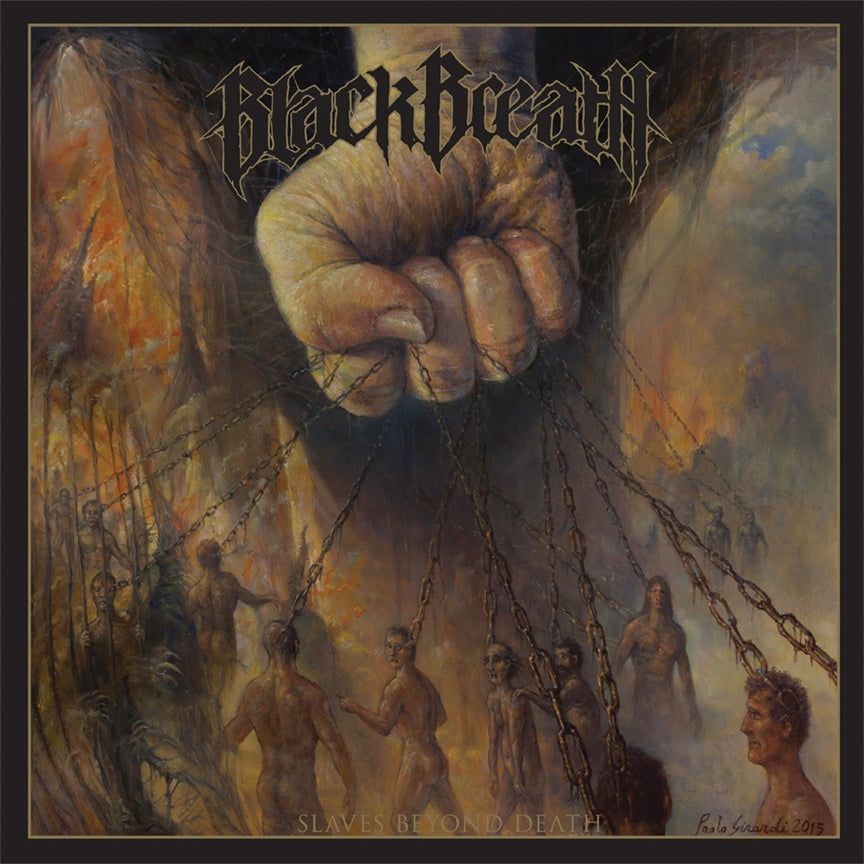 "BLACK BREATH ""SLAVES BEYOND DEATH"""
