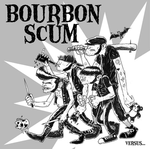 "BOURBON SCUM VS. KNYGHTS OF FUZZ ""VERSUS"""