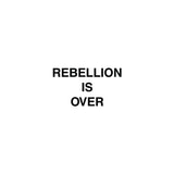 "COLD CAVE ""REBELLION IS OVER"""