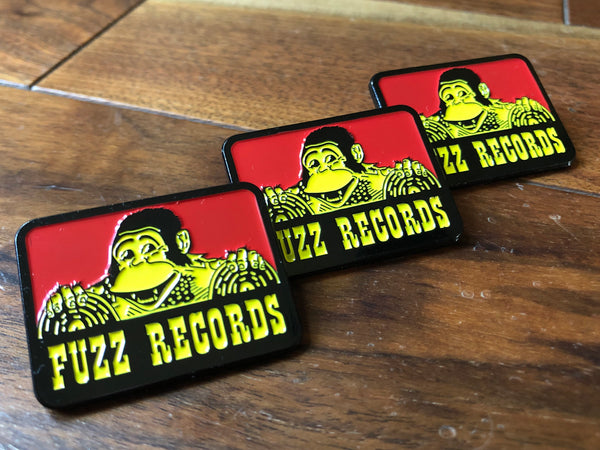 "FUZZ RECORDS ""B. DAVIS"" ENAMEL PIN"