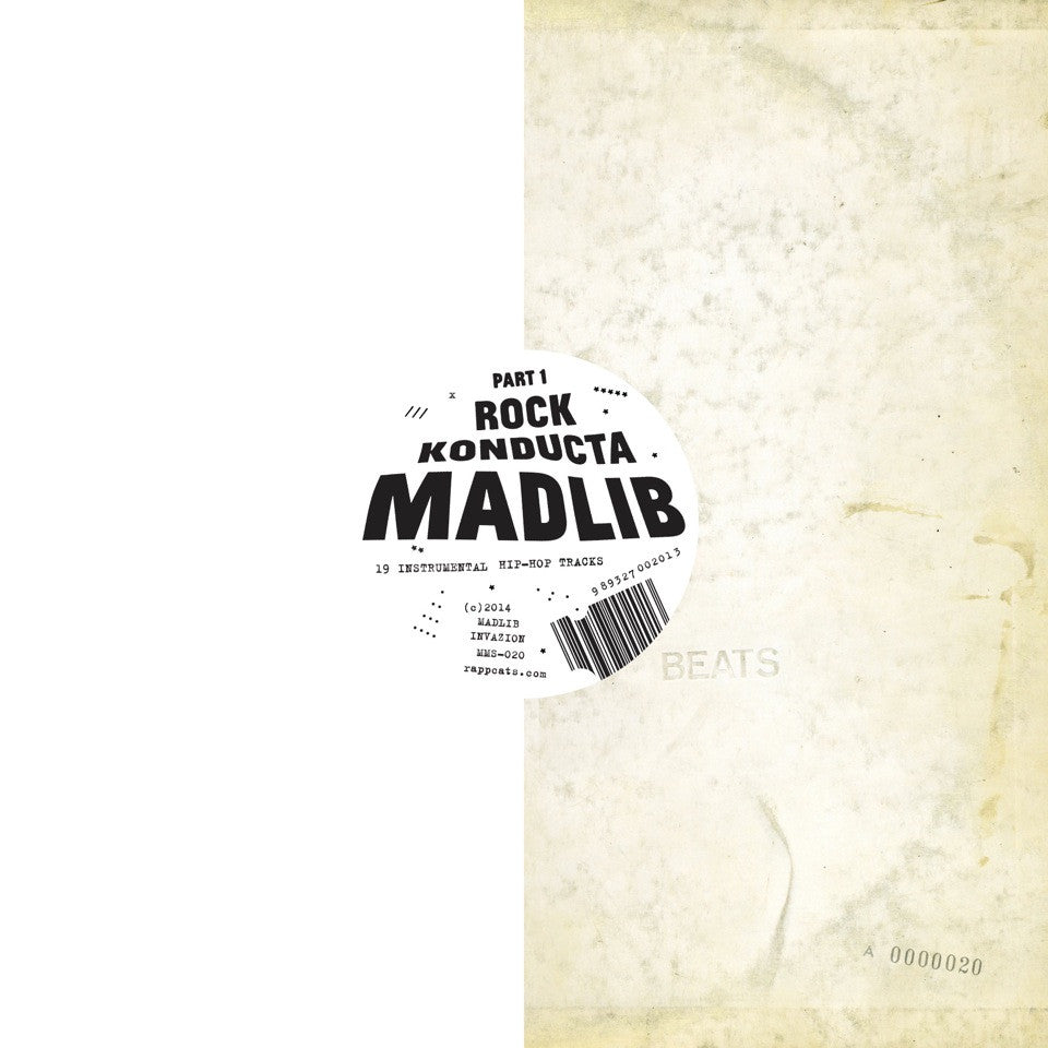 "MADLIB ""ROCK KONDUCTA PART 1"""