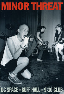 "MINOR THREAT ""LIVE"""
