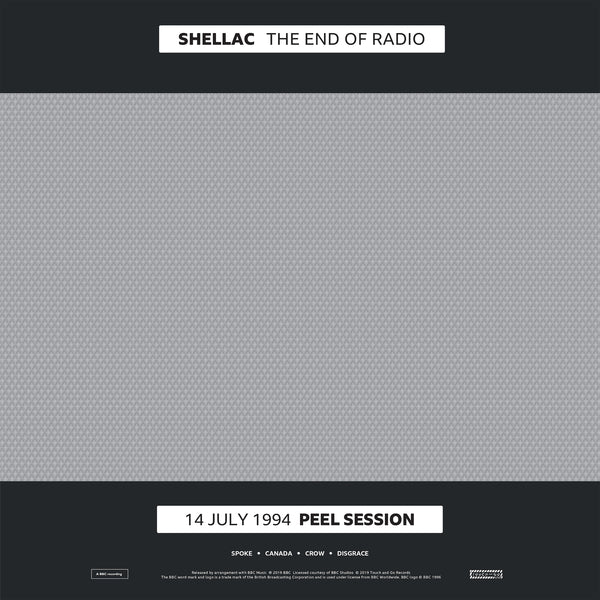 "SHELLAC ""THE END OF RADIO (PEEL SESSIONS)"""