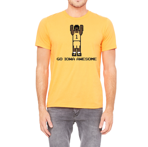 The Official Go Iowa Awesome Basketball Shirt