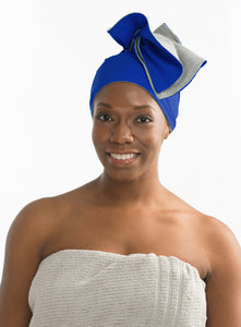 Wrapperoo® T-Shirt Hair Towel & Protective Styling Cape