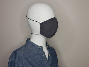 Face Mask with filter pocket and nose pocket