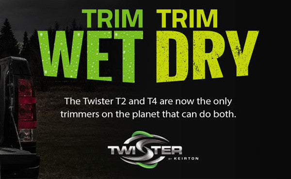 Trim Wet or Dry with the T4