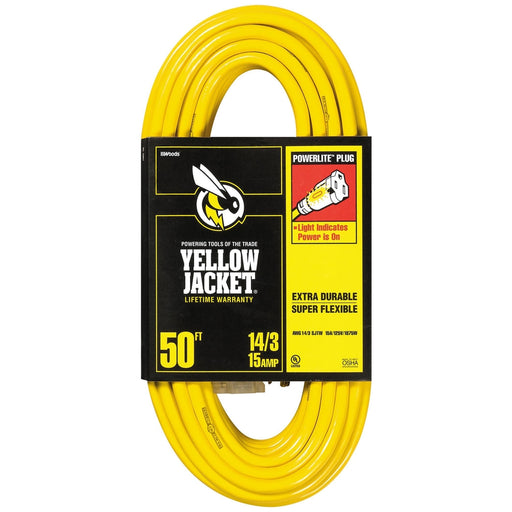 50' 14/3 Extension Cord-TrimBud.com