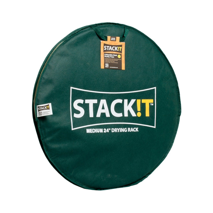 STACK!T Collapsible Mesh Drying Rack w/Clips 2FT-TrimBud.com