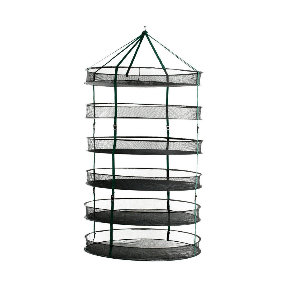 STACK!T Collapsible Mesh Drying Rack w/Clips 3FT-TrimBud.com
