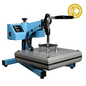Bubble Magic 15''x15'' Manual Heat Press 40psi-TrimBud.com